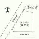 水戸市元石川町の【土地】不動産情報 fb-m0420