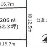 ひたちなか市東石川の【土地】不動産情報 bs-hn0248