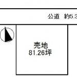 笠間市泉の【土地】不動産情報 ih-k0131
