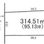那珂郡東海村白方の【土地】不動産情報(建物プラン提案付)fnh-t0121s