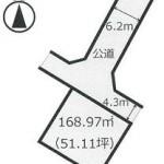 笠間市旭町の【土地】不動産情報(建物プラン提案付)com-k0148s
