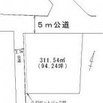 那珂郡東海村白方の【土地】不動産情報 tz-t0146