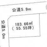 水戸市西原の【土地】不動産情報 fb-m0653
