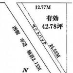 水戸市笠原町の【土地】不動産情報 kmz-m0899