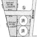 水戸市元吉田町の【土地】不動産情報 kfa-m1005