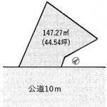 水戸市元台町の【土地】不動産情報 kfa-m1006