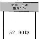 水戸市平須町の【土地】不動産情報(建物プラン提案付)kmz-m1007s