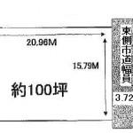 水戸市見川の【土地】不動産情報(建物プラン提案付)kmz-m1008s