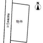 水戸市飯富町の【土地】不動産情報 kjh-m1028