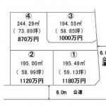 ひたちなか市外野の【土地】不動産情報(建物プラン提案付)fnh-hn0602s