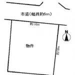 ひたちなか市中根の【土地】不動産情報(建物プラン提案付)kjh-hn0617s