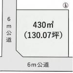 ひたちなか市北神敷台の【土地】不動産情報 kfa-hn0642