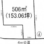 水戸市姫子の【土地】不動産情報 kfa-m1145