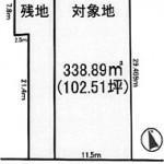 ひたちなか市外野の【土地】不動産情報 kfa-hn0655