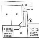 水戸市見川町の【土地】不動産情報 kfa-m1197