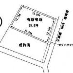 水戸市見川の【土地】不動産情報 kmz-m1209